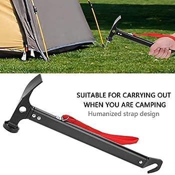 Marteau extérieur, Durable avec Marteau de Tente à Sangle, Alpinisme Anti-érosion pour la randonnée en Camping en Plein air