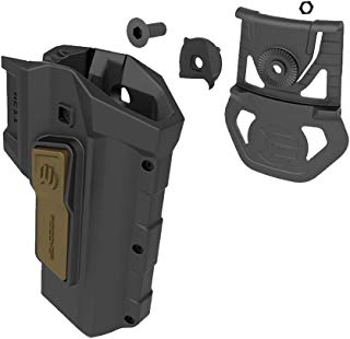 ReCover Tactical 2 Tone HC11 Active Rention Universal Accessory Fit 1911 Holster for The CC3H & CC3P Grip & Rail System - Right Hand