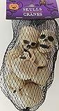 Greenbrier Halloween Mini Human Skulls Plastic 1.5'Hx1.3'Wx1.5'D 8/Pk