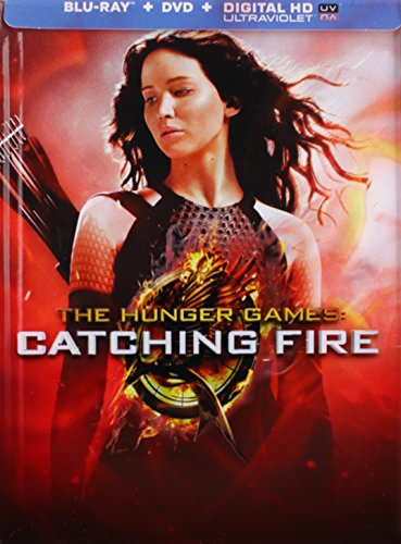 CATCHING FIRE Blu-ray+DVD+Digital Ultraviolet 3-Disc BLU-RAY COMBO PACK Includes Extra Disc with 45 Minutes of Exclusive Bonus C