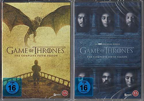 Game of Thrones Staffel 5+6 [DVD Set] [EU Import mit Deutscher Sprache]