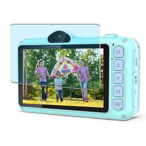 Vaxson 3-Pack Anti Luce Blu TPU Pellicola Protettiva, compatibile con Coolwill Kids Camera X8, Screen Protector Film [Non Vetro Temperato Cover Case ]