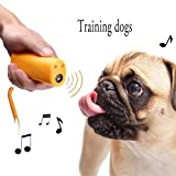 MELLOW Ultrasound Dog Training Repeller Control, 3-in-1 Anti-Barking Stop Bark, Pet Outdoor Carrier Trainer Device