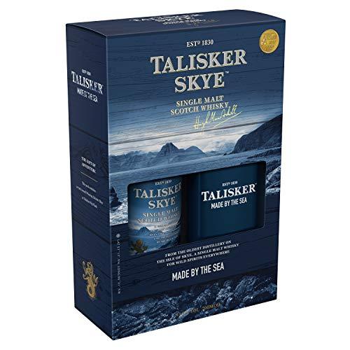 Talisker Skye, Geschenkpackung mit FlachmannSingle Malt Whisky (1 x 0.7 l), 756107
