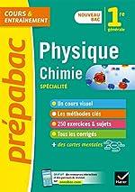 Physique-chimie 1re (spécialité) - Nouveau programme de Première 2019-2020 de Joël Carrasco