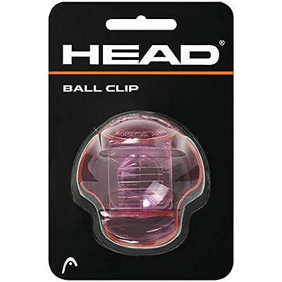 Head Tenis Ball Clip para Pelotas Transparente (Rosa-Transparente)