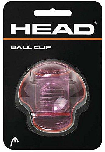 Head Tenis Ball Clip Pelotas Transparente Rosa-Transparente