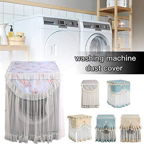 Dekking Washer, Stofkap Op Washer Beschermhoes Voor De Wassen Doek Bloemen Rijgen Voorlader Wasmachine A Stofdicht