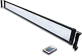 Barrina 48inches Aquarium Hood Lighting Color Changing Remote Controlled Dimmable RGB LED..