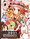 "2021 Planner: Pikachu Wear Charizard Costume Pokemon Meme Daily Weekly & Monthly Planner 2021, 365 Days 7.44"" x 9.69"""