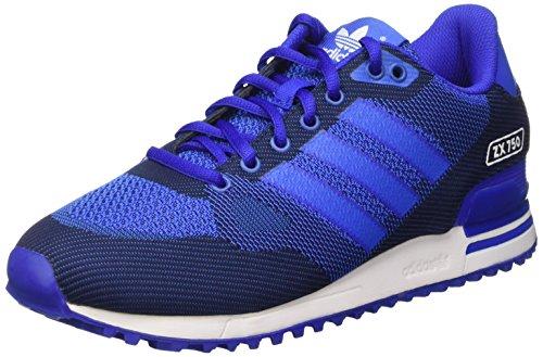 adidas ZX 750 WV, Zapatillas de Deporte Hombre, Azul/Blanco (Azufue/Azul/Ftwbla), 39 1/3