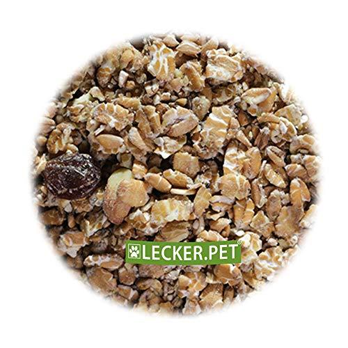 Lecker.Pet® 25 kg Fettfutter 25000 g Vogelfutter Amseln Beste Zutaten Wildvögel