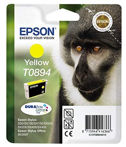 Ink cartridge Original Epson 1x Yellow C13T08944010 / T0894 for Epson Stylus SX 215