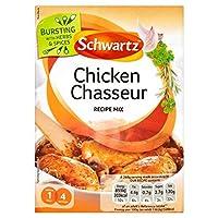 シュワルツ本物の鶏シャスールミックス40グラム (x 6) - Schwartz Authentic Chicken Chasseur Mix 40g (Pack of 6) [並行輸入品]
