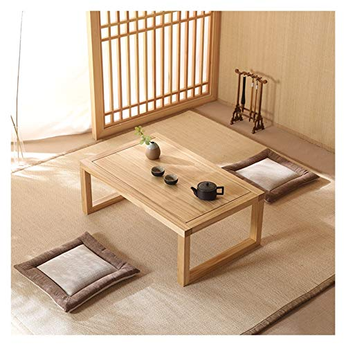 KGDC Modern Versatile Side Table Solid Wood Coffee Table End Table Short Table All-Purpose Use and Portability Beach, Picnic, Camp, or As a Gift -Living Room Side Table Coffee Desk