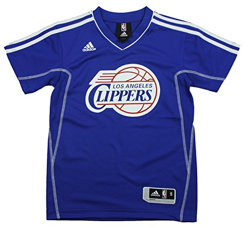 Los Angeles Clippers NBA - Camiseta de manga corta para niño (talla L), color azul - azul - Large
