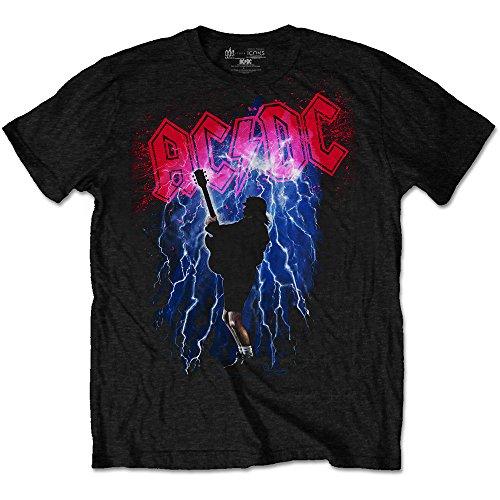 AC/DC Thunderstruck Camiseta, Negro (, M para Hombre
