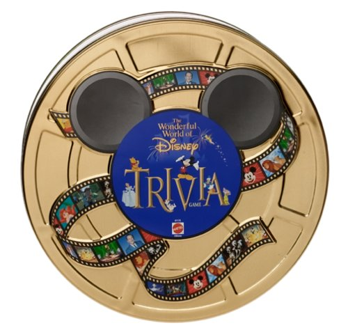 5Star-TD Wonderful World of Disney Trivia Game in Collectible Tin