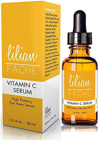 Anti-Aging Vitamin C Facial Serum, By Lilian Fache, Topically Applied for Refreshed and Hydrated...