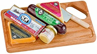 Gourmet Meat and Cheese Gift Set | Wisconsin Cheese and More | Great Holiday, Birthday, Father's Day Gift!