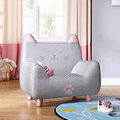 Cartoon Girl Princess Seat Contemporary Leder Kids Recliner Chair Children's Sofa