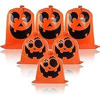 6-Pack DIYASY Halloween Pumpkin Leaf Lawn Bags