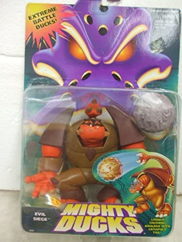 Mighty Ducks Evil Siege Battle Action Figure 1996 Mattel