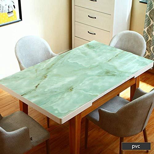 MU Kaffeetisch Tischdecke, Party Tischdecke, pflegeleicht PVC Tischset Anti-Kaffeefleck Küchenhochzeit, Restaurant Tischdecke,90 × 140 cm