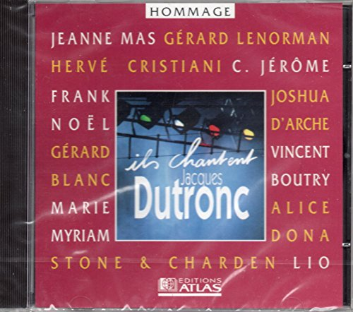 Ils chantent Jacques Dutronc CD
