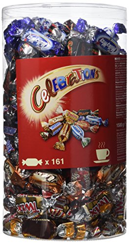 CELEBRATIONS - Assortiment de chocolats - Tubo 1,5 kg