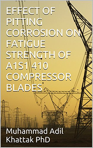 EFFECT OF PITTING CORROSION ON FATIGUE STRENGTH OF A1S1 410 COMPRESSOR BLADES (English Edition)
