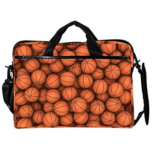 Bolsa de ordenador para balones de baloncesto deportiva adecuada para computadoras MAC, hombres y mujeres, bolsos de mano de 34 a 36,8 cm.
