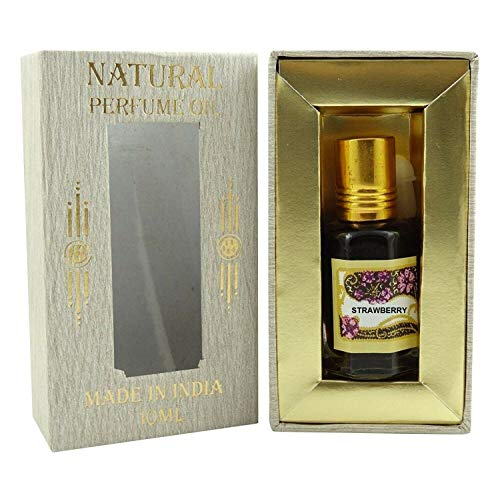 Huile de parfum Strawerry concentré naturel sans alcool Ittar Attar 10ml - SL