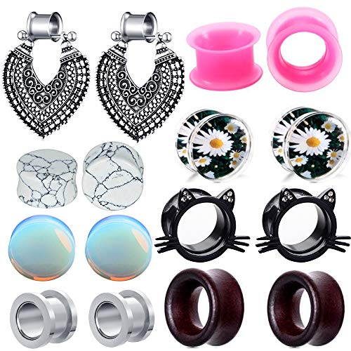 0g plugs and tunnels for women - 9