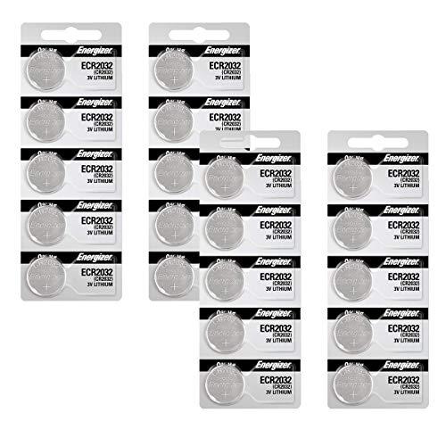 Energizer 2032 Battery CR2032 Lithium-Super Pack-20 Count-(3v- Batteries)