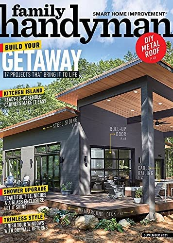 1-Year (8 Issues) of Family Handyman Magazine Subscription