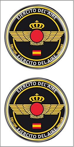 Artimagen Pegatina Círculo Ejército del Aire 2 uds. Resina ø 33 mm/ud.