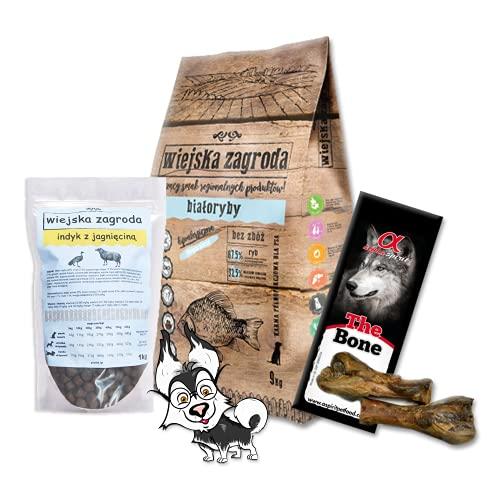 Wiejska Zagroda Pienso seco para perros Białoryvon 9 kg
