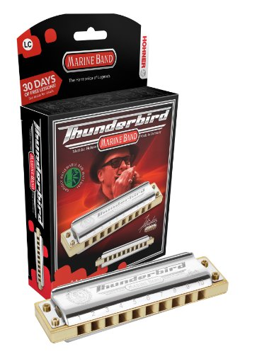 Hohner Inc. m2011bxl-c Marine Band armónica Thunderbird