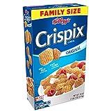 Kellogg's Crispix, Breakfast Cereal, Original, Family Size, 18oz Box