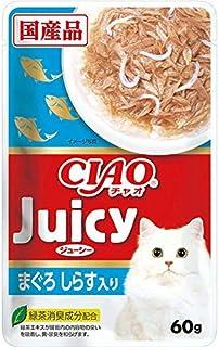 CIAO(チャオ) Juicy(ジューシー) まぐろしらす入り 60g×16袋【まとめ買い】【在庫限り】