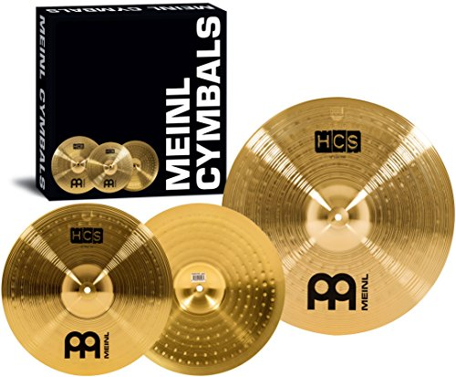 Meinl HCS Cymbal Set Up 14-inch Hihat 18-inch Crash / Ride