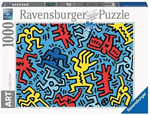 Ravensburger- Keith Haring Puzzle da Adulti, Multicolore, 1000 Pezzi, 14992