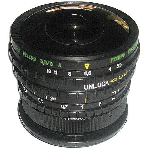 Lente Fisheye Peleng 3.5/8mm para cámaras Pentax K SLR