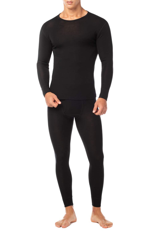 Size L-XXXL HMILYDYK Men/'s Winter Hot Thermal Underwear Pants Base Layer Soft Cotton Long John Bottoms Trousers