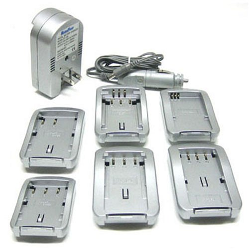 Maximal Power FC100 SON Universal All In One Camera Travel Charger for Sony Battery (Silver)