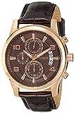 Guess - W0076G4 - Montre Homme - Quartz Chronographe - Cadran Marron - Bracelet Cuir...
