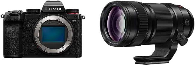 Panasonic LUMIX S5 Full Frame Mirrorless Camera (DC-S5BODY) and LUMIX S PRO 70-200mm F4 Telephoto Lens (S-R70200)