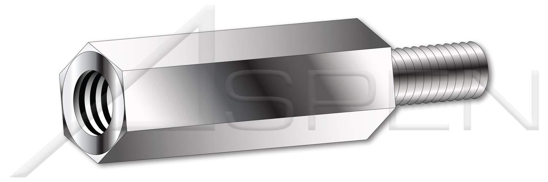 100 pcs M3-0.5 X 5mm 4.5mm Male-Female New sales Metric Hex Import Standoffs