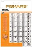 """Fiskars Règle acrylique pliable 6"""" x 24"""", Excellente pour la découpe des tissus, Formes variées, Acrylique, 1023902"""
